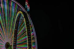 circle within (pbo31) Tags: sanmateocounty bayarea california nikon d810 color june 2018 boury pbo31 sanmateocountyfair sanmateo night dark black butleramusements spinninglight fair midway carnival ride lightstream motion spin ferriswheel ringoffire