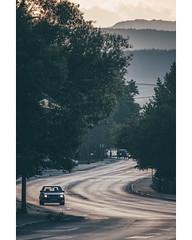 Curves (freyavev) Tags: bosnia bosna bosniaherzegovina centralbosnia car vehicle street mountains vertical bugojno volkswagen golf vw telelens canon canon700d mikasniftyfifty vsco