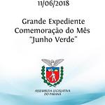 Grande Expediente - Comemoração do Mês Junho Verde.