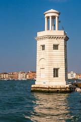 Lighthouse San Giorgio Maggiore (cstevens2) Tags: italië venetië sangiorgiomaggiore lighthouse tower building reflection italy italia venice venezia vuurtoren