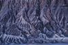 """Moments of Dissolve"" (Maddog Murph) Tags: southwest mountain mountains peak erosion erode eroding wind monsoon rock sand desert barren landscape abstract blue red hills rolling beautiful summer utah arizona season rainy thunderstorm dissolve lines fine art"
