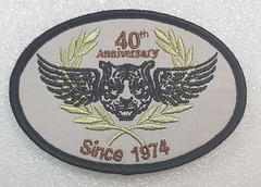 Hong Kong Police Special Duties Unit 40th Anniversary, 2014 (Sin_15) Tags: insignia badge police patch hong kong special duties unit law enforcement emblem 40th anniversary sdu