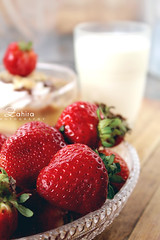 strawberries (zahira photography) Tags: strawberries strawberry food red fraizes