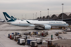 CATHAY PACIFIC A350-900XWB B-LRN 001 (A.S. Kevin N.V.M.M. Chung) Tags: aviation aircraft airlines plane aeroplane spotting airside apron cathaypacific