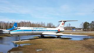 Tupolev Tu.134A c/n 61033 registration EW-65149 preserved as Aeroflot