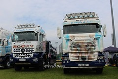 C Doyle & Sons Mercedes-Benz (WU67HTZ) & Scania R410 (CD10RRY). (Fred Dean Jnr) Tags: waterford may2018 waterfordtruckmotorshow2018 waterfordtruckmotorshow waterfordinstituteoftechnologyarena truck lorry cdoylesons mercedesbenz tippertruck wu67htz scania r410 cd10rry