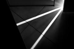 opening the door (madtacker) Tags: raum tür abstrakt minimalismus schwarzweiss blackwhite licht panasonic lumix fz1000 deutschland germany