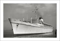 (SS-0170) - Christoforo Colombo - Halifax Nova Scotia (Steve Given) Tags: ship liner cruise christoforocolombo halifax