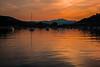 Elban sunrise...... (Dafydd Penguin) Tags: orange skies sun sunrise water sea harbour harbor bay port seaside moorings island elba tuscany italy mediterranean coast coastal leica m10 7artisans 50mm f11