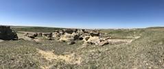 Jerusalem coulee near Sweetgrass Montana (jasonwoodhead23) Tags: sweetgrass jerusalemcoulee hiking sandstone hoodoos usa montana