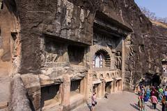 Cave !! (pankaj.anand) Tags: ajantacaves marvelofindia india travel travellog buddha sleepingbuddha canon canon60d widenangle february2018 2018 architecture architecturefromindia chaitya pankajanand pankajanand18 pankaj anand pankajanandphotography carvings deccan carvingsintemple