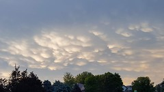 May 30, 2018 - Mammatus clouds. (David Canfield)