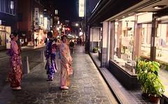 Japan- Nara (venturidonatella) Tags: japan giappone asia street strada streetscene streetlife persone people gentes colori colors notte night kimono nikon nikond500 d500 luce light emozioni emotion
