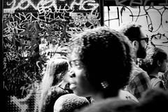 IMG_7707 (1) (JetBlakInk) Tags: afro brixton composition women streetphotography streetscene groupshot mono subjecttoground