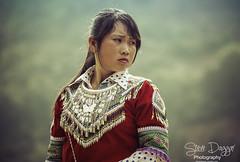 0S1A6110 (Steve Daggar) Tags: vietnam vietnamese bacha hmong markets ethnic colour bachamarket girl warrior strong