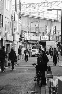 Old shopping district near Nippori