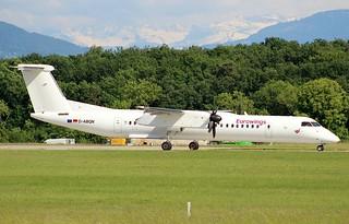Eurowings. EW9747. Bombardier Dash 8 Q400. D-ABQN. GVA.