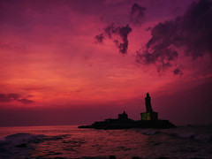 நிற்க அதற்குத் தக. (Prabhu B Doss) Tags: prabhu b doss prabhubdoss thiruvalluvar statue sage tamil thirukural tirukural indian ocean kanyakumari tamilnadu india travelphotography clouds sea sunrise fujifilm gfx50s