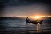Oimara (A.Nilssen Photography) Tags: tromsø tromsdalen tomasjord boat ship wreck oimara night norway sundown troms tromsoe tromso nikon d7100