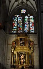 a4o. Astorga (León-España). Catedral. Capilla de San Juan Bautista (santi abella) Tags: astorga león castillayleón españa catedraldeastorga retablos
