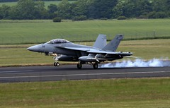 EA18G  516 (TF102A) Tags: prestwick prestwickairport aviation aircraft airplane usnavy f18 ea18g growler hornet