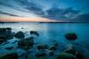 Beach sunrise, Montesilvano (© Daniele Marchese) Tags: rocks sea sesascape sunrise landscape filter lee nd gnd