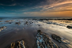 Birling Gap - Sussex (E_W_Photo) Tags: birlinggap sussex beach sunset lowtide rocks sand canon 80d sigma 1020mm leefilters