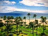 View of Lanai (tourtrophy) Tags: kaanapali googlepixel2xl lanai marriott westmaui maui lahaina hawaii palmtrees resort beach