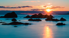 Deception Pass (ValeTer_) Tags: sea horizon sky ocean headland calm sunset coast sunrise nikon d7500 landscape water nature washington usa washingtonstate deceptionpass deceptionpassstatepark state park sun
