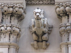 Street Level Gargoyle Old NY Times Building NYC 3981 (Brechtbug) Tags: gargoyle former new york times building square 2018 city tower architecture midtown manhattan 06182018 newspaper gothic news paper towers urban now yahoo headquarters internet business search engine computer company june spring summer art buildings old street level ny nyc