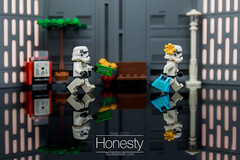 Honesty (Ballou34) Tags: 2018 7dmark2 7dmarkii 7d2 7dii afol ballou34 canon canon7dmarkii canon7dii eos eos7dmarkii eos7d2 eos7dii flickr lego legographer legography minifigures photography stuckinplastic toy toyphotography toys neuillysurseine îledefrance france fr 7d mark 2 ii eos7d stuck plastic in puteaux sipgoes52 starwars star wars sw stormtrooper stormtroopers honesty money lost bag