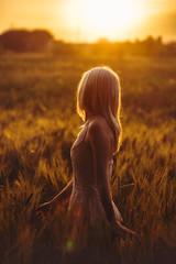 Loving Sunset. (FlorianPascual) Tags: ifttt 500px sunset girl sky sun nature portrait woman cute light female lady pretty