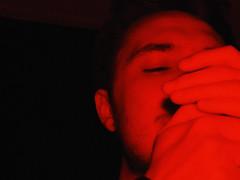 lighting up (saraconve) Tags: red grain noise grainy disturbo rumore flash rosso person people persona persone portrait ritratto hands mani blurred nikon nikoncoolpixp600 nikonitalia nikonphotography nikoncoolpix coolpix coolpixp600 p600 nikonp600 streetphotography