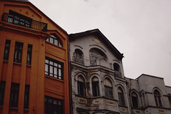 ulus (Damla Özcan) Tags: ulus turkey city architecture citylife urban bulding building roses yellow gloomy cloudy canon eos5d mark ii 50mm f14 photography