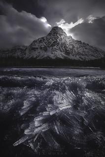 Mount Chephren, Alberta