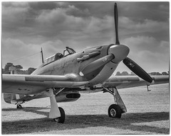 Sea Hurricane (Linton Snapper) Tags: shuttleworth shuttleworthcollection oldwarden bedfordshire blackandwhite airshow aircraft lintonsnapper