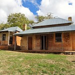 Tumbarumba. Old NSW gold town by the Australian Alps. Lorenz Wolter's cottage built in 1875. Vacant from 1950s. Restored 2015. thumbnail