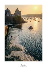 Le Conquet (MagiCshoot) Tags: aber leconquet brest breitzh bzh mer port bretagne sunset water eau sun boat bateau france x100s fuji