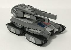 "HV-81 ""Goldman"" Heavy Tank (Zach Sweigart) Tags: tank armor lego military"