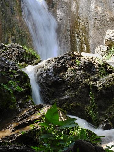 Waterfall Stream Summer / Vízesés Patak Nyár