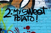 graffiti in Amsterdam (wojofoto) Tags: amsterdam nederland holland graffiti streetart wojofoto wolfgangjosten words ndsm