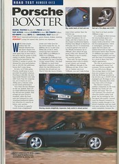Boxster - 1 (N57KM22) Tags: porsche boxster 986 v78ejm 10november1999 autocar 27