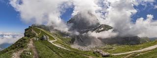 *Mangart-Pass Panorama*