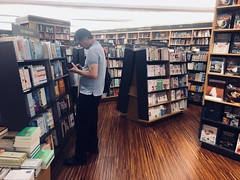 Bookstore (nnhai91) Tags: iphone street man people book store