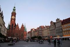 Wrocław rynek ratusz