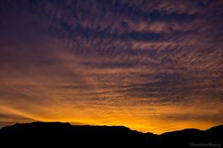 Sunrise over the Sandia Mountains, New Mexico 5/26/18