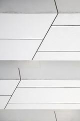 Essential confusion (nicolamarongiu) Tags: biancoenero blackandwihte monocrome minimal minimalism astratto abstract palazzo facciata archit linee gradini prospettiva