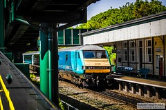 PrestatynRailStation2018.05.23-14 (Robert Mann MA Photography) Tags: prestatynrailstation prestatynstation prestatyn denbigshire northwales prestatyntowncentre trainstation station trainstations railstation railstations arrivatrainswales class175 class158 supersprinter class158supersprinter class67 mark3 mark3carriages dvt drivingvantrailer virgintrains class221 supervoyager class221supervoyager town towns towncentre architecture 2018 spring wednesday 23rdmay2018 trains train railway railways railwaystation railwaystations