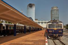 Phnom Penh train station (Thomas Mülchi) Tags: 2018 cambodia phnompenh architecture trainstation kh