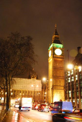 Парламент і Біг Бен Лондон вночі InterNetri United Kingdom 0445